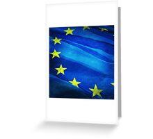 European flag Greeting Card