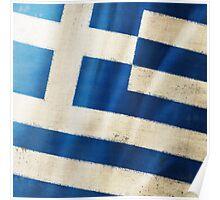 Greece flag  Poster