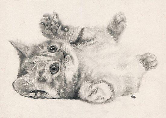 Rub my belly. by Bianca Ferrando