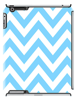 zigzag chevron pattern in blue color by nadil