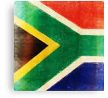 South Africa flag  Canvas Print