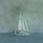 Yacht  iPad Case by Catherine Hamilton-Veal  ©