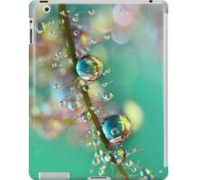 Smokey Rainbow Drops iPad Case/Skin