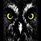Great Grey Owl iPad case by Steve Crompton