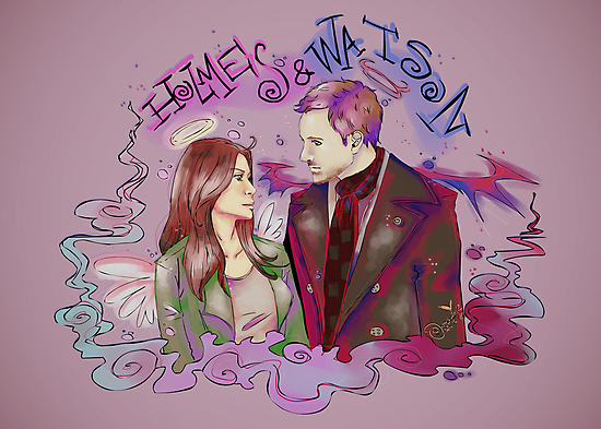 holmes and watson by KanaHyde
