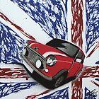 British Mini 03 Painting by Richard Yeomans