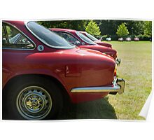 Alfa Romeo Giulia Sprints Poster