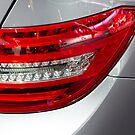 Tail light Mercedes-Benz [ Print & iPad / iPod / iPhone Case ] by Mauricio Santana