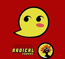 Radical Edward Big Cheeky - (iPad) by Adam Angold