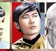 Star Trek miniatures by wu-wei