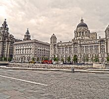 The 3 Graces of Liverpool by DavidWHughes