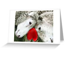 Sheep Art - For Life Greeting Card