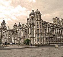 The 3 Graces Of Liverpool 2 by DavidWHughes
