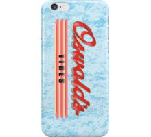 Oswald's Tires iPhone Case/Skin