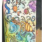 Ocean watercolors by notjustclassic