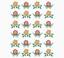 Vector Flower Pattern by bradyarnold