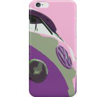 Sky Pink Split iPhone Case/Skin