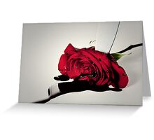 Murder of the Rose Greeting Card