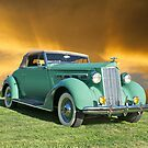1937 Packard 120 Convertible Coupe by DaveKoontz