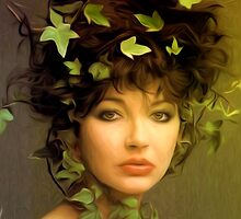 Kate Bush - Under the Ivy - Pop Art by wcsmack