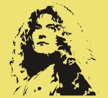 Robert Plant Led Zeppelin T-Shirt by retrorebirth
