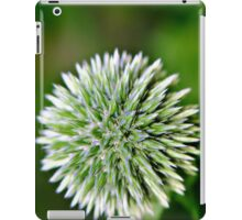 Globe Thistle (Echinops) Seed head iPad Case/Skin