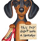 Squeakers (Dachshund) by Danny Gordon