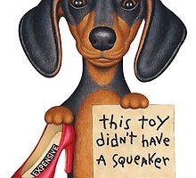 Squeakers (Dachshund) by Danny Gordon