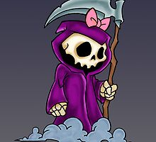 Sweet Skull Grim Reaper by screamingtiki