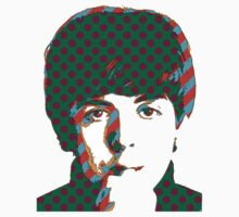 Paul McCartney Beatles by retrorebirth