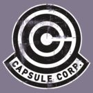 Capsule Corp (Grungy Version) by soulthrow