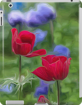 Two Sisters in Bloom for iPad by Patricia L. Walker