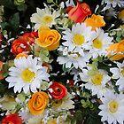 Silk Flower arrangement by David Galson