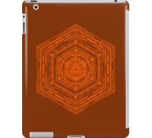 Anatomy of a Cube (Orange) iPad Case/Skin