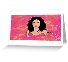 Girl Style  Greeting Card