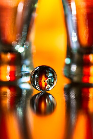 Shapes in glass by Jérôme Le Dorze