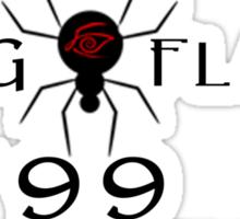 Dinh for Midworld - Crimson King & Randall Flagg 1999 Sticker
