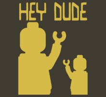 Minifig Hey Dude, by Customize My Minifig by ChilleeW
