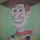 Free Hand Drawing of Woody by Paul Trewartha