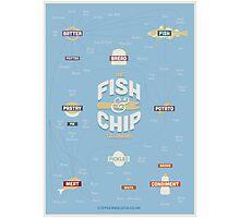 The Fish & Chip Taxonomy Photographic Print