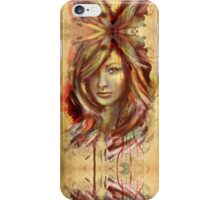Olivia Wilde Portrait Tra Digital Painting iPhone Case/Skin
