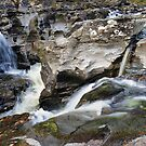 The Falls of Orchy, Glen Orchy by Richard Ion