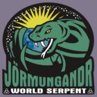 Jörmungandr - The World Serpent by ikaszans