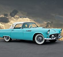 1955 Ford Thunderbird by DaveKoontz