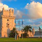 Torre de Belém. sunset by terezadelpilar~ art & architecture