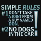 DEAN'S RULES by RocksaltMerch