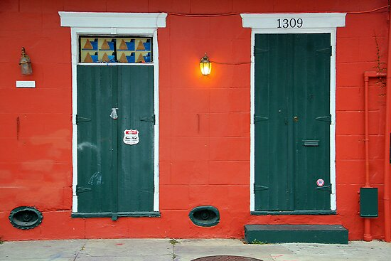 New Orleans Windows and Doors XI by Igor Shrayer