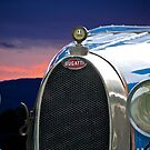 Vintage Bugatti Race Car by DaveKoontz