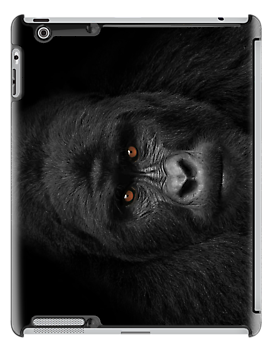 Why are they staring...? iPad Case by Wojciech Dabrowski