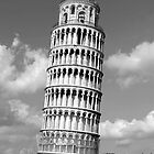 Leaning Tower of Pisa by Vana Shipton